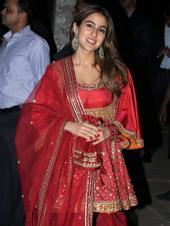 Sara Ali Khan, Kriti Sanon, Janhvi Kapoor And More Attend The Bachchan Family's Diwali Bash