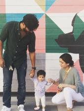 Dulquer Salmaan and His Cute Family Moments