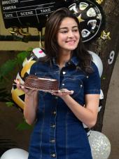 Ananya Panday Celebrates Her 21st Birthday On Sets