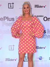 Katy Perry At The OnePlus Music Festival Press Conference In India