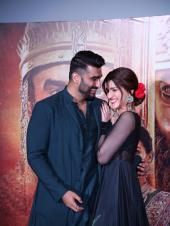 Arjun Kapoor And Kriti Sanon At The Song Launch From Upcoming Film