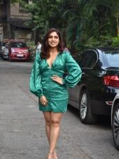 Bhumi Pednekar, Ananya Panday And Kartik Aaryan At Promotional Shoot