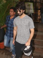 Monday Motivation: Shahid Kapoor, Amrita Arora And More Celebs Spotted At Gym