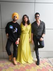 Kareena Kapoor, Askhay Kumar and Diljit Dosanjh Promote Good Newwz