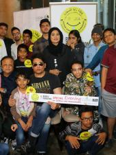 Shekhar Suman Spends Time With Special Needs Children in Dubai