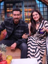 Ajay Devgn And Kajol Promote Tanhaji On Kapil's Show
