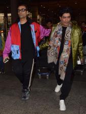 Celebs Spotting: Karan Johar, Manish Malhotra And More