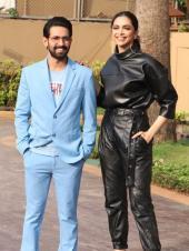 Deepika Padukone And Vikrant Massey Promote Their Film