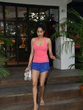 Janhvi Kapoor Out and About