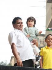 Taimur Ali Khan Looks Cute as a Button