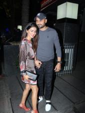 Geeta Basra and Harbhajan Singh Spotted