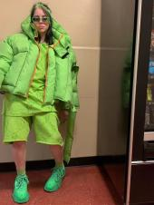 Why Billie Eilish Decide to Don Baggy Clothing