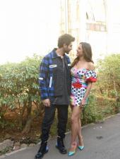 Sara Ali Khan and Kartik Aaryan Promote Love Aaj Kal