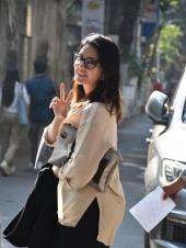 Sunny Leone Spotted in Casual Attire