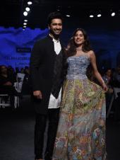 Janhvi Kapoor and Vicky Kaushal Strut Down the Runway