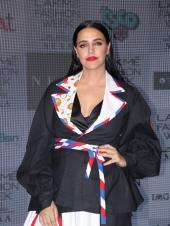 Neha Dhupia Rocks the Red Pout