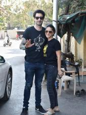 Sunny Leone Spotted with Husband