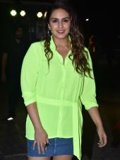 Ananya Panday and Huma Qureshi Stun in Neon