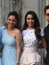 Baaghi Cast Steps Out For Promotions