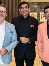 MasterChef Australia Judge Guy Mehigan Joins Sanjeev Kapoor and Gaurav Tandon to Celebrate the Success of Foodshala Kids in Dubai