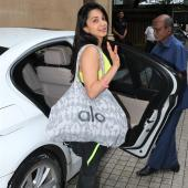 Kiara Advani Opts For Neons On Her Way to a Martial Arts Class