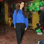 Disha Patani Smiles For the Paps While Out and About