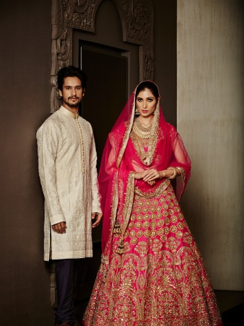 Manish Malhotra's Take on What Works Best For the Sangeet Oufit