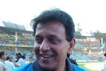 Mithun hits the cricket ground