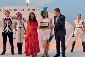 Aishwarya Rai Bachchan at the Dubai World Cup