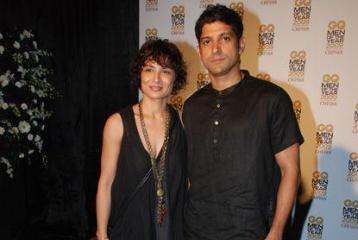 Farhan Akhtar and Wife Adhuna Launch Salon in Dubai