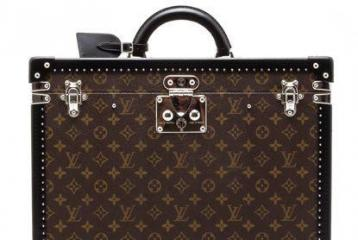 Show off a Rare Louis Vuitton Briefcase
