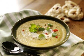 Recipe: Low Fat Leek, Potato & Lentil Soup