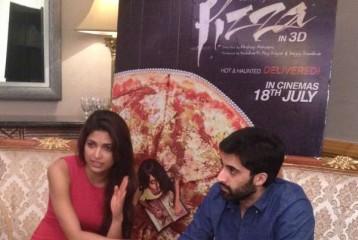 Parvathy Omanakuttan and Akshay Oberoi Promote Pizza in Dubai