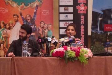 Sonam Kapoor and Fawad Afzal Khan in Dubai