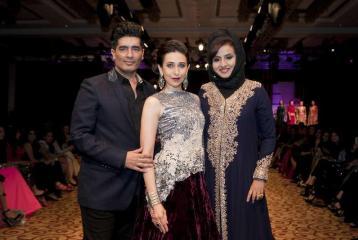 Manish Malhotra and Karisma Kapoor in Dubai