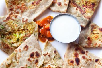 Al Baker Chakki Fresh Atta Recipe of the Day: Keema Parantha