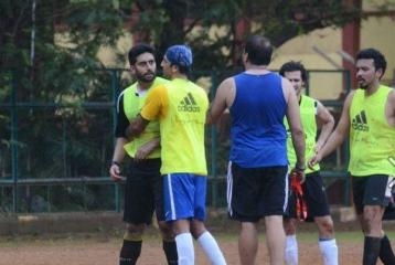 Did Abhishek Bachchan Lose His Cool During A Friendly Football Game?