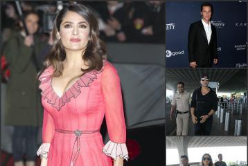 Matthew McConaughey, Salma Hayek, Akshay Kumar, Parineeti Chopra and Abhishek Bachchan to be in Dubai Today