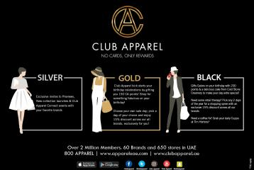 Club Apparel Takes its Loyalty Programme to the Next Level