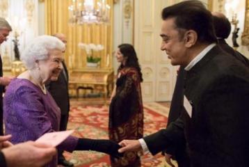 Kamal Hasaan Meets the Queen!