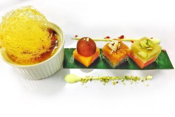 Diwali Recipe: Phirni Brulee With Fresh Fruit And Mithai Petit Four