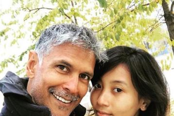 What's The Real Age of Milind Soman's Much Younger Girlfriend?