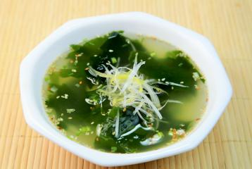 Recipe: Winter Mix Vegetable and Seaweed Soup