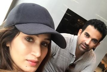 Congratulations! Zaheer Khan And Sagarika Ghatge Are Finally Married
