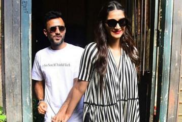 PIC: Newlyweds Sonam Kapoor and Anand Ahuja Indulged in Some Super Cute PDA!