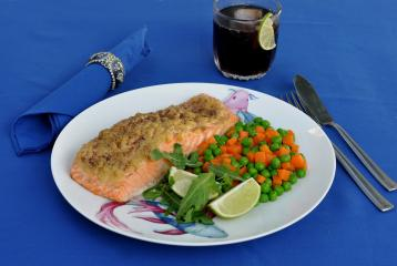 Recipe of the Day: Garlic Parmesan Salmon