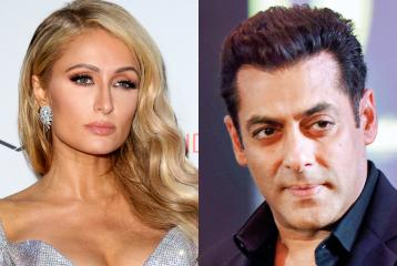 Wow, Paris Hilton is a Salman Khan Fan!