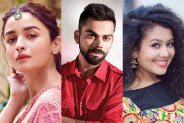 Alia Bhatt, Virat Kohli, Neha Kakkar: Top Ten Bollywood Influencers on Instagram 2019