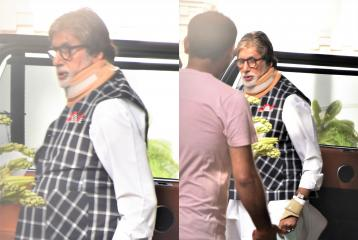 Amitabh Bachchan Spotted Out and About Since Reports of Ill Health