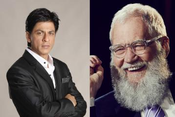 Shah Rukh Khan to Shoot with David Letterman